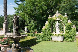 hotel con parco e giardini all'italiana, villa cattani stuart