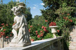 hotel con parco e giardini all'italiana, villa cattani stuart 7