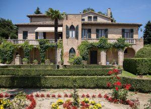 hotel con parco e giardino all'italiana a pesaro, hotel villa cattani stuart
