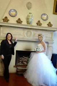 ida la wedding planner di Villa Cattani