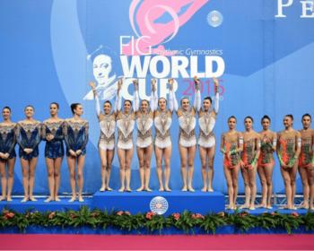 Coppa del mondo di Ginnastica Ritmica a Pesaro