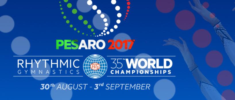 dal 30 agosto al 3 settembre 2017 a Pesaro si terrà il campionato mondiale di ginnastica ritmica