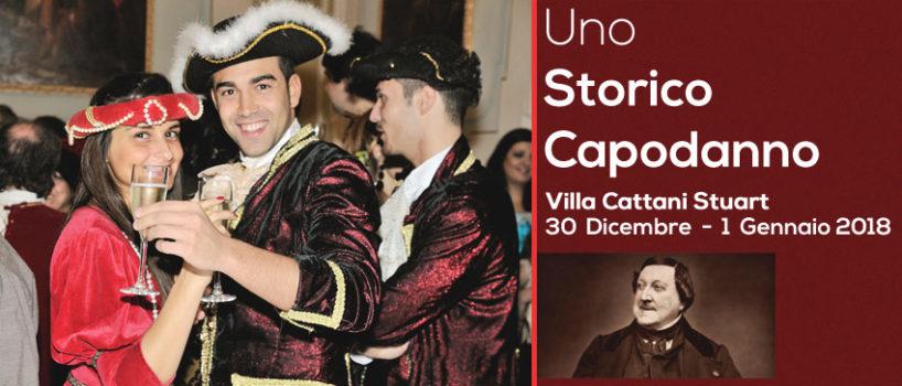 Villa Cattani Stuart a Pesaro organizza il pacchetto di Capodanno 2018 con cenone e cena con delitto per due notti