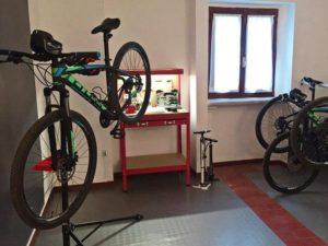 officina della bike room