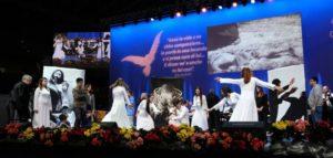Un momento di intrattenimento durante la Convocazione Nazionale del Rinnovamento dello Spirito