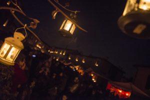 scene emozionanti durante Candele a Candelara