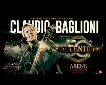 """Claudio Baglioni in concerto a Pesaro con """"Al Centro"""""""