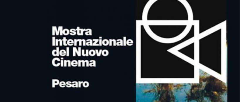Locandina della Mostra Internazionale del nuovo Cinema di Pesaro
