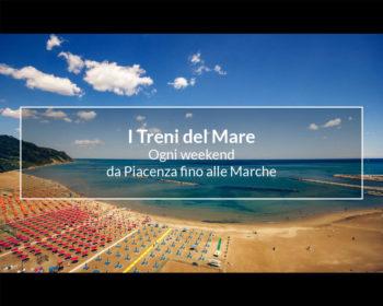 I treni del mare da Piacenza alle Marche: Orari e treni