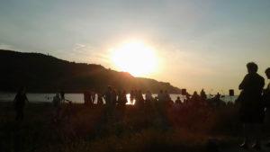 Festa in spiaggia a Pesaro