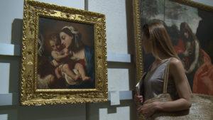 Interno dei musei civici a Pesaro