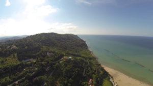 Panoramica del Monte San Bartolo