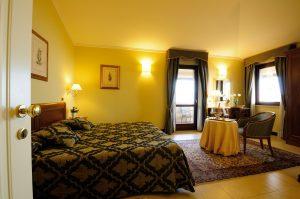 Camera Junior Suite dell'Hotel Villa Cattani Stuart