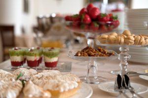 foto della colazione a Villa Cattani Stuart
