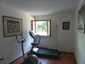area fitness della bike room