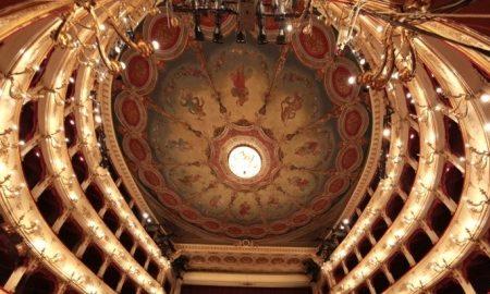 Soffitto del teatro Rossini a Pesaro